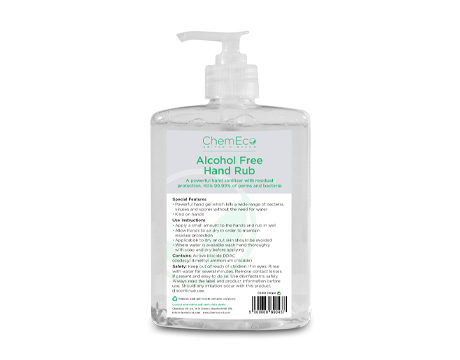 Image of Alcohol Free Hand Rub package